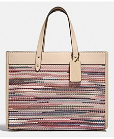 Leather Field Tote