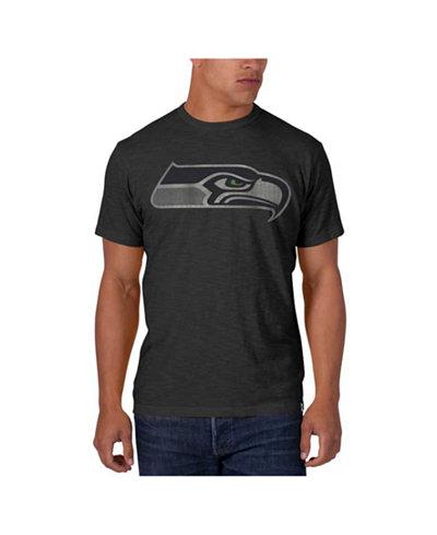 '47 Brand Men's Seattle Seahawks Logo Scrum T-Shirt