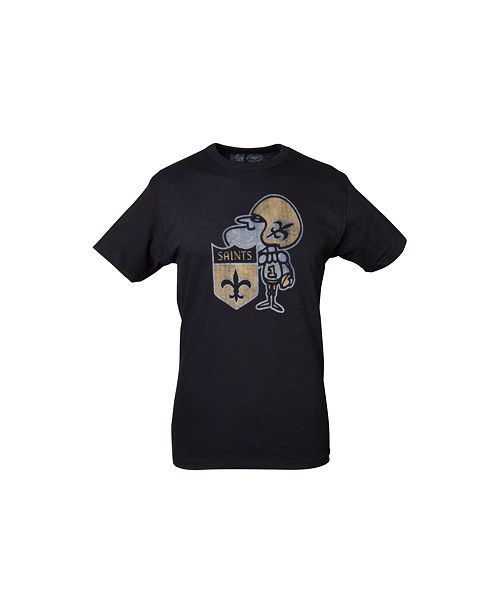 '47 Brand Men's New Orleans Saints Retro Logo Scrum T-Shirt