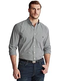 Men's Big & Tall Classic-Fit Poplin Shirt