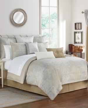 Waterford Comforters & quilts MARITANA REVERSIBLE 4 PIECE COMFORTER SET, QUEEN BEDDING