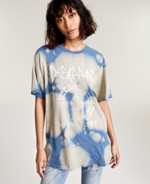 Cotton Def Leppard-Graphic T-Shirt