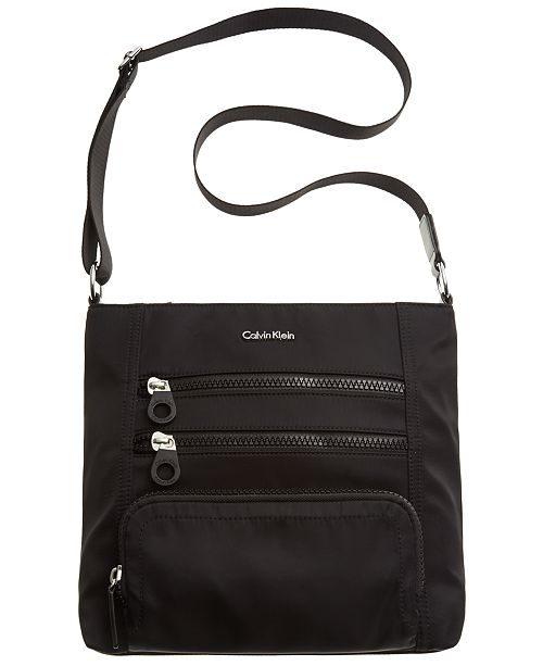 Calvin Klein Nylon Crossbody 3 Reviews Main Image