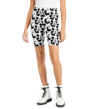 Juniors' Mickey Mouse Bike Shorts