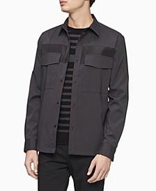 Men's Stretch Utility Button Down Shirt