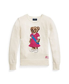 Big Girls Polo Bear Sweater