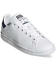 Big Kids Originals Stan Smith Primegreen Casual Sneakers from Finish Line