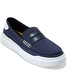 Women's Grandpro Rally Canvas Penny Loafers
