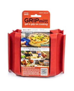 Gripmitt Silicone Medium To Large Kitchen Mitt, Pack Of 2 In Red