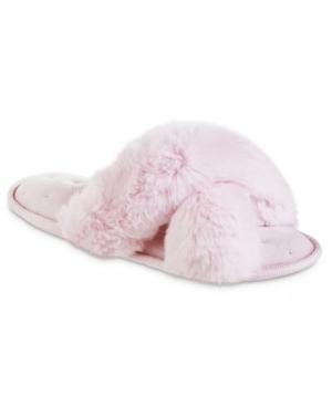 Women's Faux Fur X-Slide Slippers