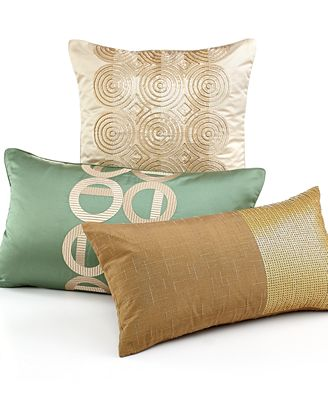 Hotel Collection Mulberry Decorative Pillows : CLOSEOUT! Hotel Collection Cabochan 14