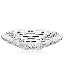 "Mikasa Palazzo Crystal 13"" Centerpiece Platter"