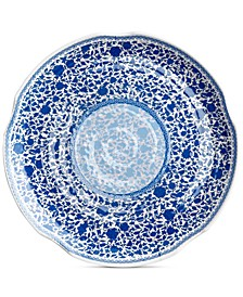 "Heritage Melamine 16"" Round Hammered Platter"