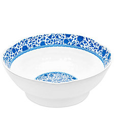 "Q Squared Heritage 12"" Melamine Serve Bowl"