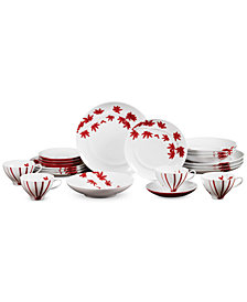 Mikasa Pure Red 20-Pc. Service for 4