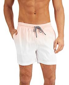 "INC Men's Ombré 5"" Swim Trunks, Created for Macy's"