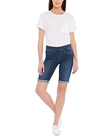 Pull-On Bermuda Shorts