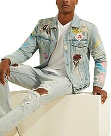 Men's Graffiti Dillon Denim Jacket