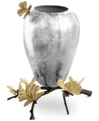 Butterfly Ginkgo Medium Vase