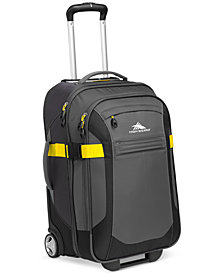 "CLOSEOUT! High Sierra Sportour 22"" Carry On Rolling Suitcase"