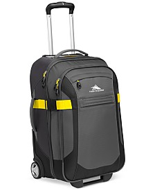 """CLOSEOUT! High Sierra Sportour 22"""" Carry On Rolling Suitcase"""