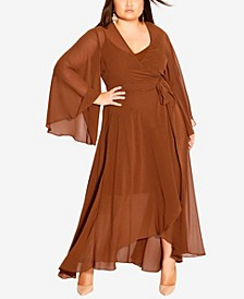 Plus Size Fleetwood Maxi Dress