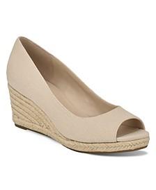 Women's Nuri Peep-Toe Espadrille Wedge Sandals