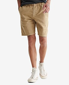 Men's Laguna Linen Flat Front Shorts