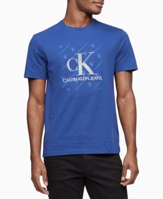 Men's Diagonal Box Logo T-Shirt