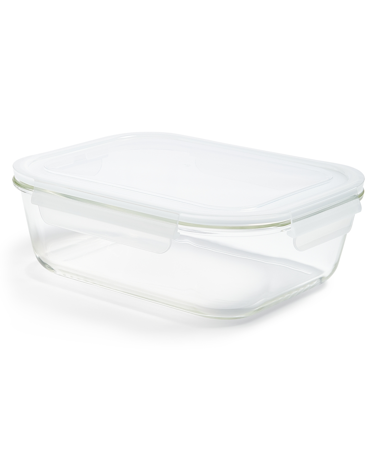 Martha Stewart Collection 9.6-Cup Rectangular Glass Food Storage Container, Created for Macy's