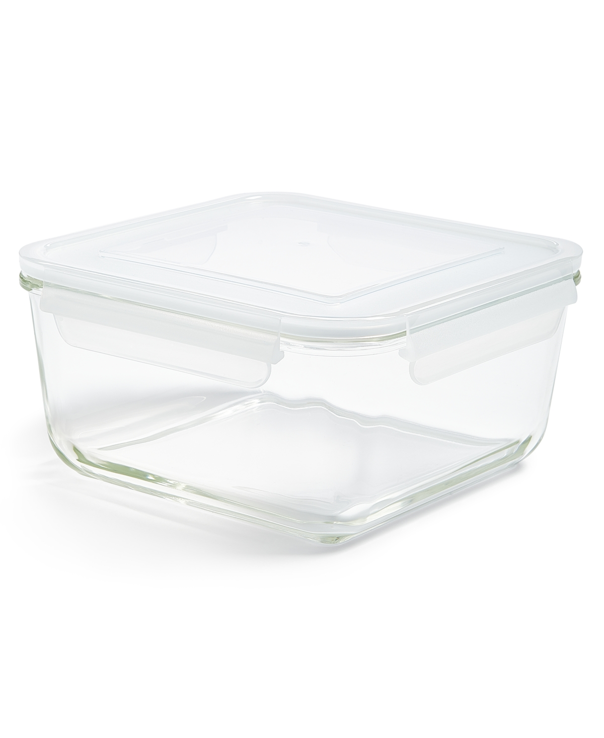 Martha Stewart Collection 9.3-Cup Square Glass Food Storage Container, Created for Macy's