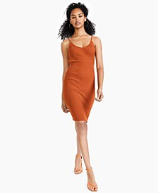 Ribbed Midi Sweater Dress, Created for Macy's