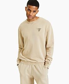 Men's Fleece Logo Patch Sweatshirt