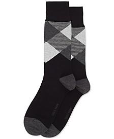 Men's Check Dress Socks