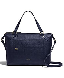Villiers Road Leather Satchel