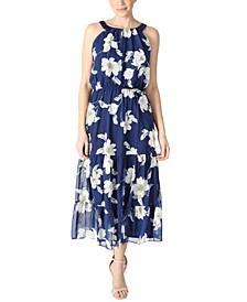 Petite Tiered Maxi Dress