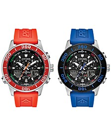 Eco-Drive Men's Promaster Sailhawk Analog-Digital Watch Collection