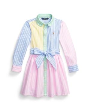 Polo Ralph Lauren Dresses LITTLE GIRLS OXFORD FUN SHIRTDRESS