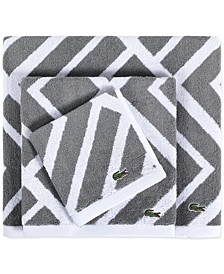 Shadow Diamond Cotton Bath Towel Collection