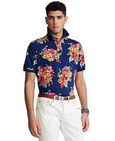 Men's Classic-Fit Floral Polo Shirt
