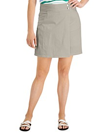Crossover Button Skort, Created for Macy's