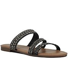 Women's Billie Studded Flat Sandals