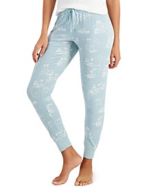 Printed Jogger Pants, Created for Macy's