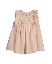 Toddler Girls Baby Doll Umpire Waist Dress