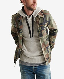 Men's Camouflage Trucker Jacket
