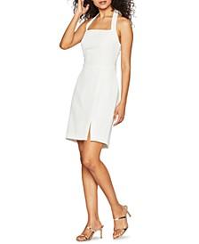 Textured Halter Dress