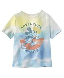 Adventure Awaits Toddler Boys Short Sleeve T-shirt