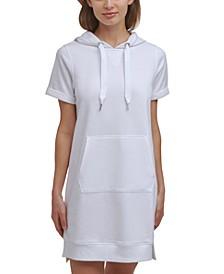 Women's Hooded Sweatshirt Dress