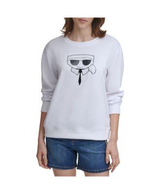 Crystal Karl Emoji Sweatshirt