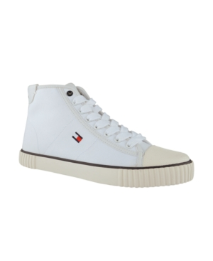 Tommy Hilfiger WOMEN'S ENDER HIGH TOP LACE UP SNEAKERS WOMEN'S SHOES
